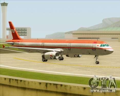 Airbus A321-200 LTU International pour GTA San Andreas moteur