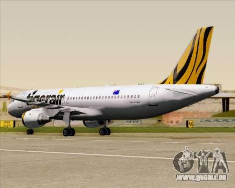 Airbus A320-200 Tigerair Australia für GTA San Andreas Seitenansicht