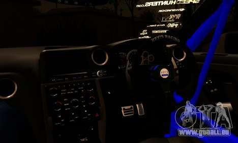 Nissan GTR Tuning für GTA San Andreas zurück linke Ansicht