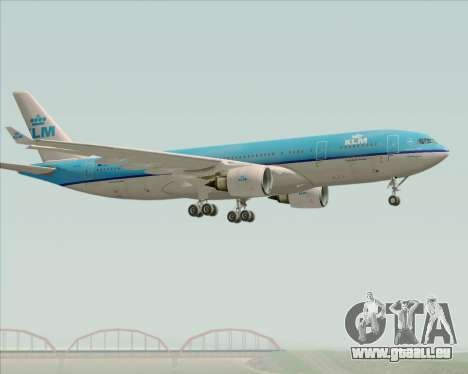 Airbus A330-200 KLM - Royal Dutch Airlines für GTA San Andreas rechten Ansicht