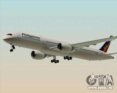 Airbus A350-900 Philippine Airlines für GTA San Andreas linke Ansicht