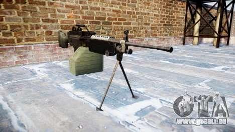 Mitrailleuse M249 SAW pour GTA 4