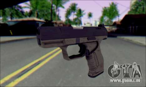 Walther P99 Bump Mapping v1 für GTA San Andreas