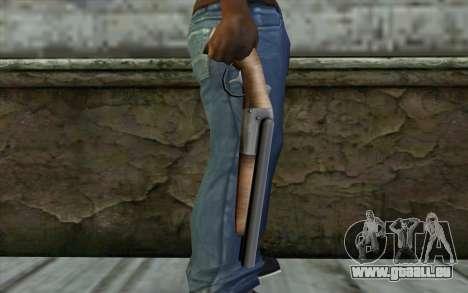 Sawn Off Shotgun from Beta Version pour GTA San Andreas troisième écran