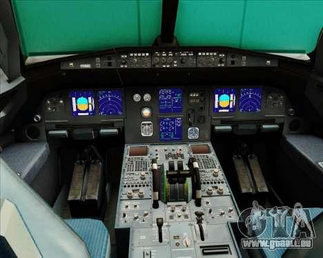 Airbus A321-200 Austrian Airlines pour GTA San Andreas salon