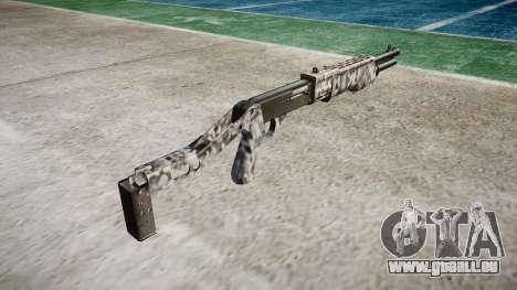 Ружье Franchi SPAS-12 Diamants pour GTA 4 secondes d'écran