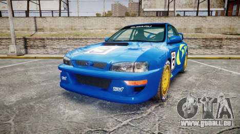 Subaru Impreza WRC 1998 World Rally v3.0 Green pour GTA 4