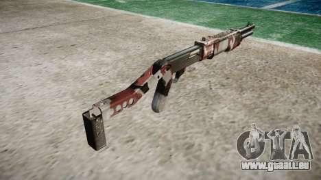 Ружье Franchi SPAS-12 injectés de sang pour GTA 4 secondes d'écran