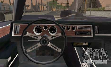 New Phoenix für GTA San Andreas zurück linke Ansicht