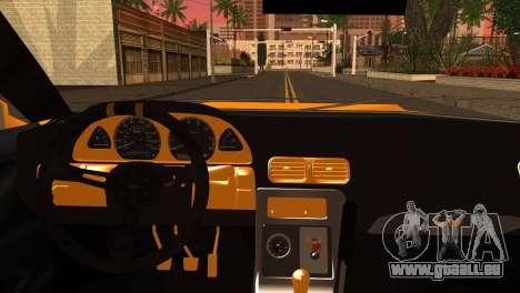 Elegy Team DriftMonkey für GTA San Andreas zurück linke Ansicht