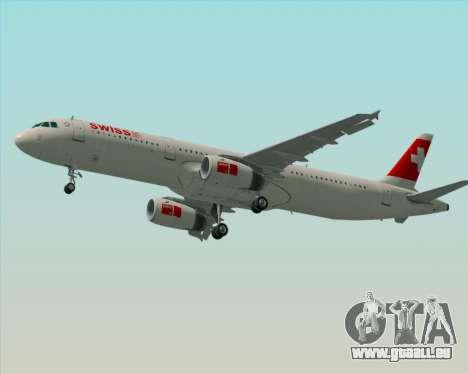 Airbus A321-200 Swiss International Air Lines für GTA San Andreas Motor
