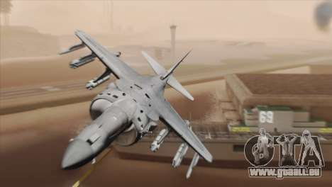 EMB AV-8 Harrier II USA NAVY für GTA San Andreas