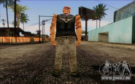 Biker from GTA Vice City Skin 1 für GTA San Andreas zweiten Screenshot
