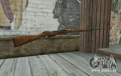 Die Gewehre Mosin-v9 für GTA San Andreas zweiten Screenshot