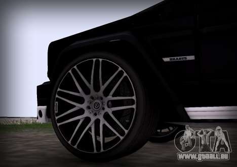 Brabus 800 pour GTA San Andreas vue de droite
