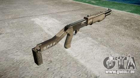 Ружье Franchi SPAS-12 A-TACS AU für GTA 4 Sekunden Bildschirm