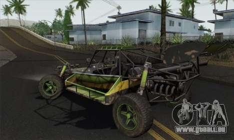 Devilbwoy Buggy pour GTA San Andreas laissé vue