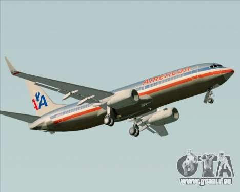 Boeing 737-800 American Airlines für GTA San Andreas linke Ansicht