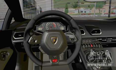 Lamborghini Huracan 2014 Type 2 pour GTA San Andreas vue de droite