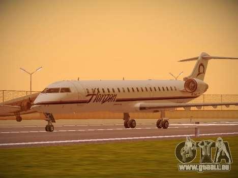 Bombardier CRJ-700 Horizon Air für GTA San Andreas