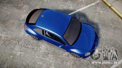 Volkswagen Beetle A5 Fusca pour GTA 4 est un droit