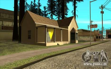 Nouveau CJ maison à Angel Pine pour GTA San Andreas deuxième écran