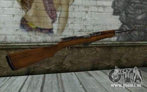 СКС (Battlefield: Vietnam) für GTA San Andreas zweiten Screenshot