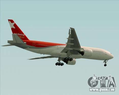 Boeing 777-21BER Nordwind Airlines pour GTA San Andreas roue