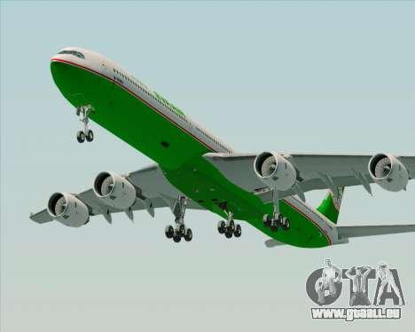 Airbus A340-600 EVA Air pour GTA San Andreas moteur