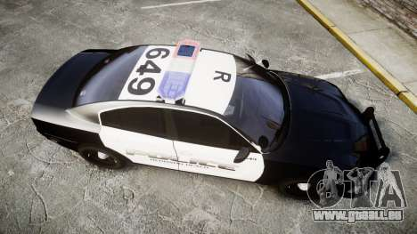 Dodge Charger 2014 Redondo Beach PD [ELS] für GTA 4 rechte Ansicht
