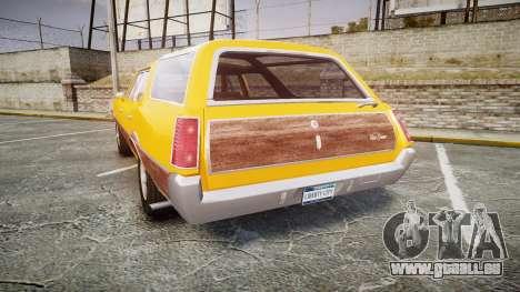 Oldsmobile Vista Cruiser 1972 Rims2 Tree3 pour GTA 4 Vue arrière de la gauche