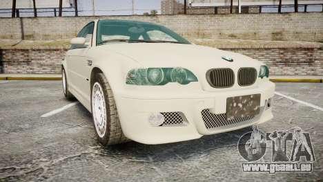BMW M3 E46 2001 Tuned Wheel White für GTA 4