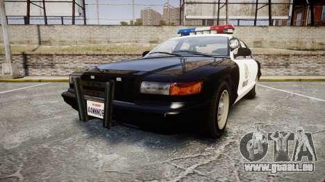 Vapid Police Cruiser MX7000 pour GTA 4