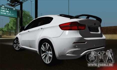 BMW X6M 2013 für GTA San Andreas linke Ansicht