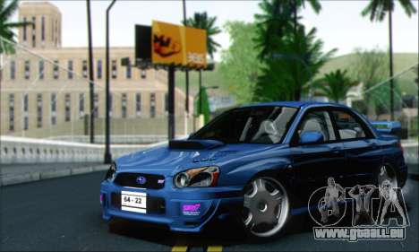 Subaru Impreza WRX STi pour GTA San Andreas