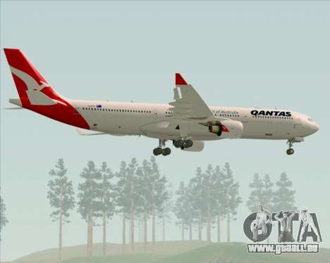 Airbus A330-300 Qantas (New Colors) für GTA San Andreas Räder