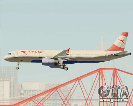 Airbus A321-200 Austrian Airlines pour GTA San Andreas roue