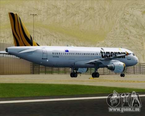 Airbus A320-200 Tigerair Australia für GTA San Andreas Räder