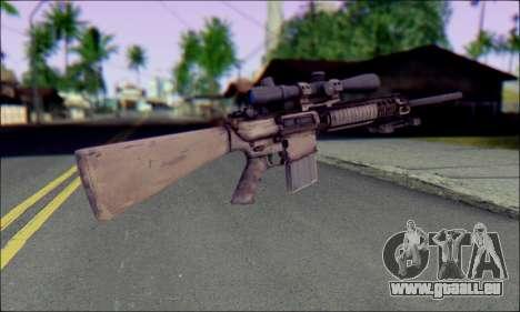 M110 avec un viseur Optique pour GTA San Andreas deuxième écran