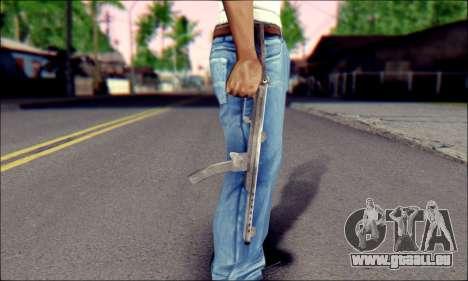 Pistolet Sudeva pour GTA San Andreas troisième écran