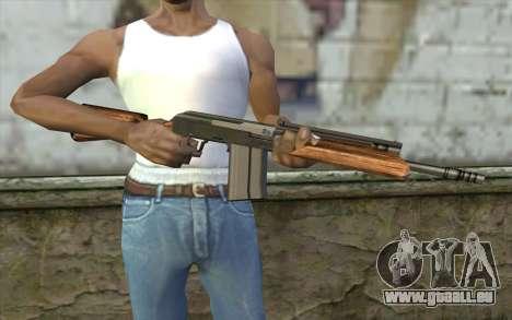 Saiga (Schusswaffen) für GTA San Andreas dritten Screenshot
