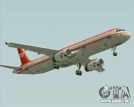 Airbus A321-200 LTU International pour GTA San Andreas vue arrière