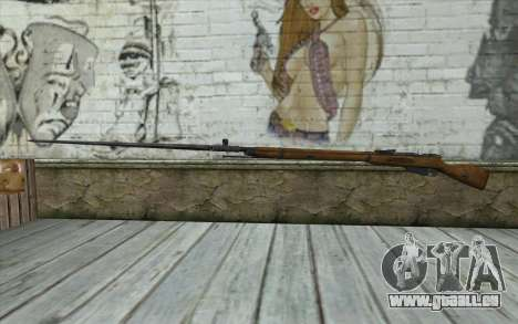 Die Gewehre Mosin-v9 für GTA San Andreas