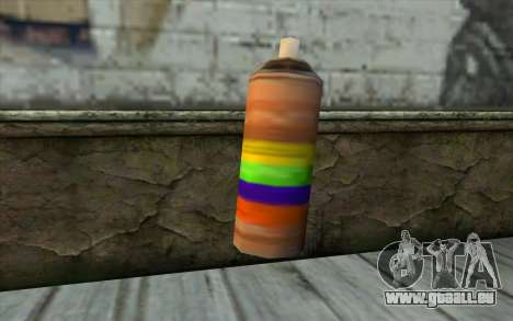 Spray Can from Beta Version pour GTA San Andreas deuxième écran