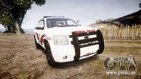 Chevrolet Suburban 2008 Hebron Police [ELS] Blue pour GTA 4