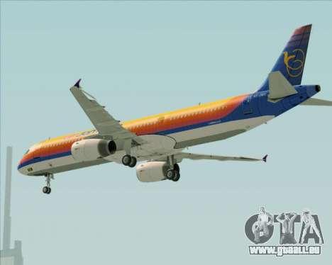 Airbus A321-200 Air Jamaica für GTA San Andreas Räder