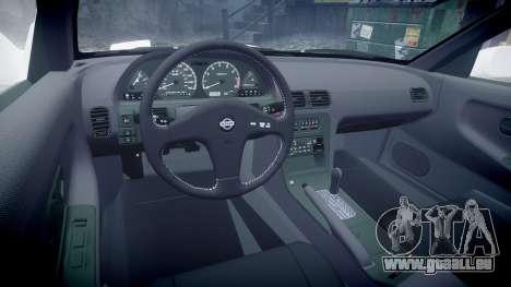 Nissan 240SX S13 für GTA 4 Rückansicht