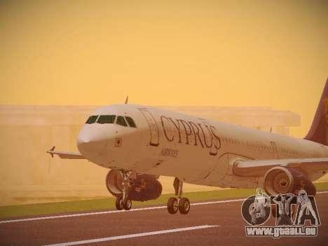 Airbus A321-232 Cyprus Airways pour GTA San Andreas laissé vue