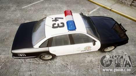 Vapid Police Cruiser MX7000 pour GTA 4 est un droit