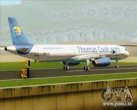 Airbus A321-200 Thomas Cook Airlines pour GTA San Andreas vue de côté